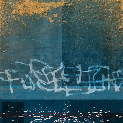 Beach Digital Art - Depth by Carol Leigh
