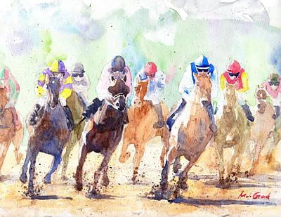 Derby Print by Max Good