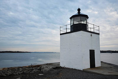 New England Lighthouse Digital Art - Derby Wharf Light Salem Ma by Toby McGuire