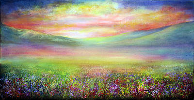 Derbyshire Dream Print by Ann Marie Bone