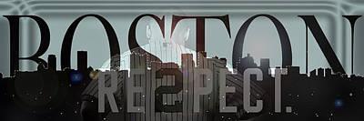 Derek Jeter Photograph - Derek Jeter - Boston by Joann Vitali