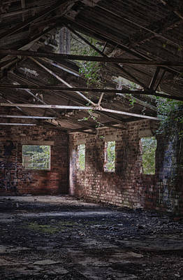 Derelict Building Print by Amanda And Christopher Elwell