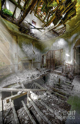 Vivacious Digital Art - Derelict Room by Svetlana Sewell