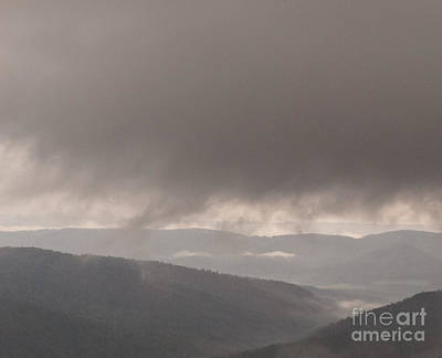 Bieszczady Photograph - Descending Cloud by Agata Wisniowska