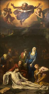 Anton Raphael Mengs Painting - Descent by Anton Raphael Mengs