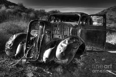Desert Beauty Death Valley California Print by Bob Christopher