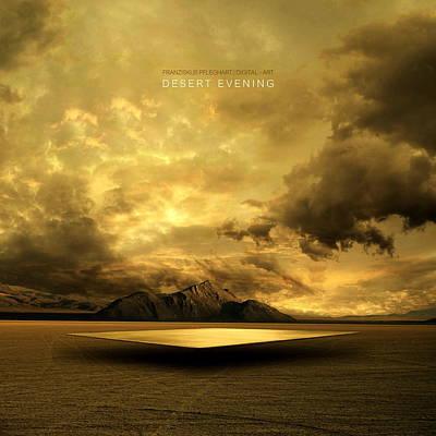Evening Digital Art - Desert Evening by Franziskus Pfleghart