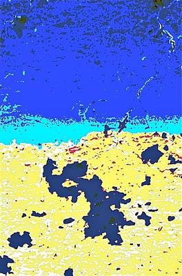 Desert Horizon Print by Charles Rayburn