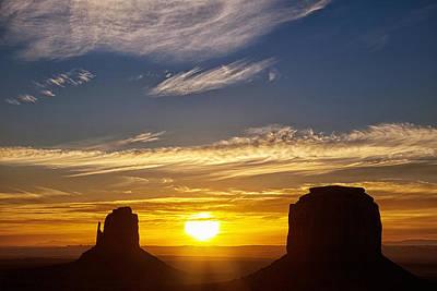 Vibrant Photograph - Desert Light by Andrew Soundarajan