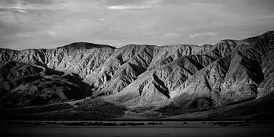 Dry Lake Photograph - Desert Light by Peter Tellone