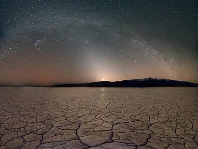 Desert Night Print by Leland D Howard