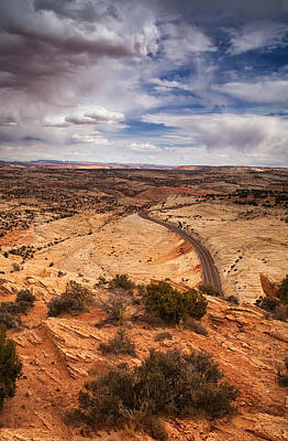 Staircase Photograph - Desert Road by Andrew Soundarajan