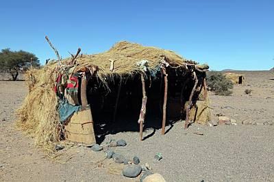 Africa-north Photograph - Desert Shelter by Martin Rietze
