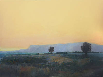 Painting - Desert Sunset 2 by Cap Pannell