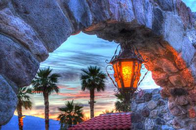 Desert Sunset View Print by Heidi Smith
