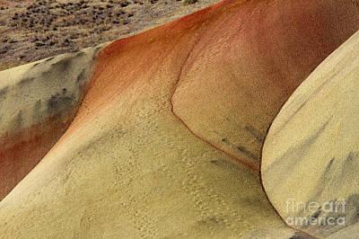 Hills Photograph - Desert Textures by Mike Dawson