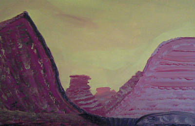 Animation Drawing - Desert#1 by Don Koester