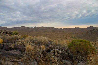 Pioneertown Photograph - Deserts First Light by Jim Mattern