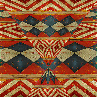 Design 1 -native Inspired Print by Jeff Burgess