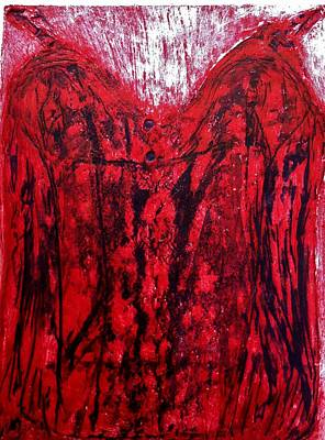 Collagraph Relief - Desire by C Stephenson-Gibbs