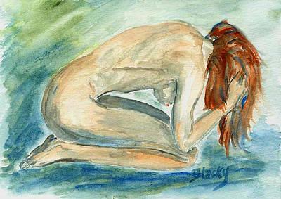 Despair Print by Donna Blackhall