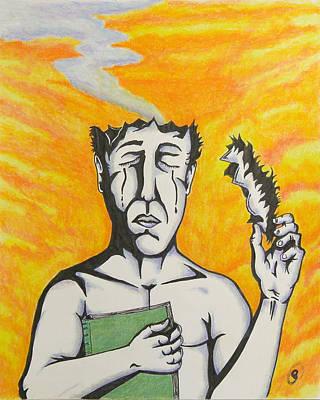 Tears Drawing - Despair by Ryan Sweeney