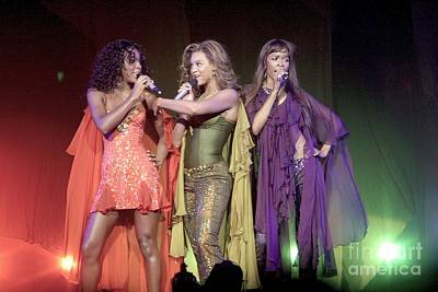 Kelly Rowland Photograph - Destiny's Child by Front Row  Photographs