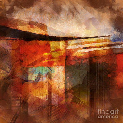 Future Digital Art - Destinyscape by Lutz Baar