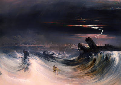 Mideast Painting - Destruction Of Tyre by Mountain Dreams