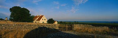 Detached House Near The Ocean, Faro Print by Panoramic Images