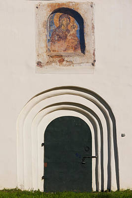 Saviour Photograph - Detail Of The Church Of Our Saviour by Panoramic Images