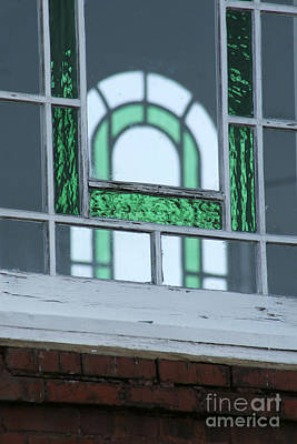 Details In Green At St. John Print by Jennifer Apffel