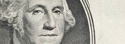 Details Of George Washingtons Image Print by Panoramic Images