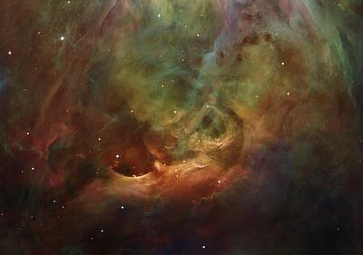 Details Of Orion Nebula Print by Marianna Mills