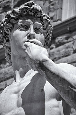 Statue Portrait Photograph - Determination by Melany Sarafis