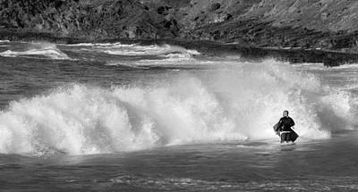 Haleiwa Photograph - Determination To Go In by Tin Lung Chao