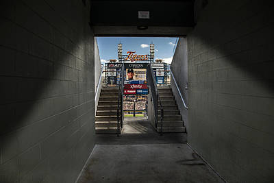 Detroit Comerica Park Entrance Print by John McGraw