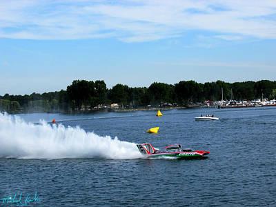 Detroit Hydroplane Race  Original by Michael Rucker