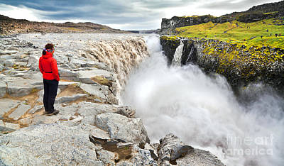 Dettifoss Photograph - Dettifoss In Iceland by JR Photography