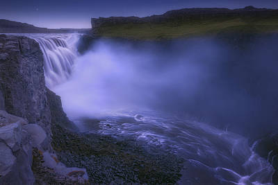 Dettifoss Photograph - Dettifoss Waterfall by Giovanni Allievi
