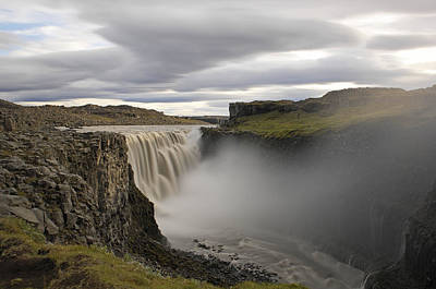 Dettifoss Photograph - Dettifoss Waterfall - Iceland by Claudio Bacinello