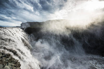 Dettifoss Photograph - Dettifoss Waterfall North Iceland by Matthias Hauser