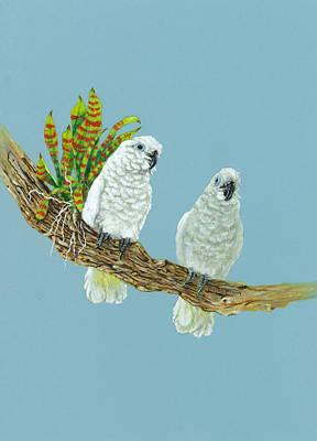 Artist Richard Brooks Painting - Deuces Wild by Richard Brooks