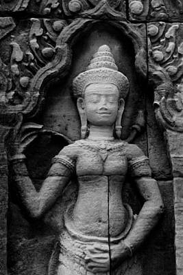 Dancer Relief Photograph - Devata by Peter Oxley