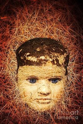 Devil Child Print by Edward Fielding