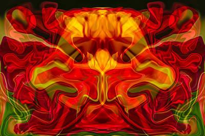 Ceramic Mixed Media - Devilish by Omaste Witkowski