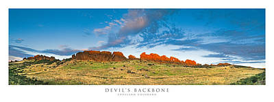 Panorama Photograph - Devil's Backbone Loveland by Posters of Colorado