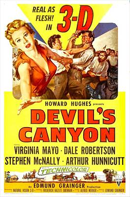 Devils Canyon, Us Poster, From Left Print by Everett