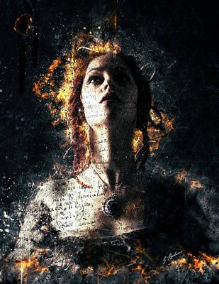 Dramatic Digital Art - Devotion by Gary Bodnar