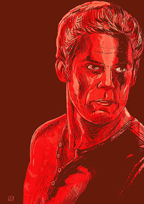 Dexter Print by Giuseppe Cristiano
